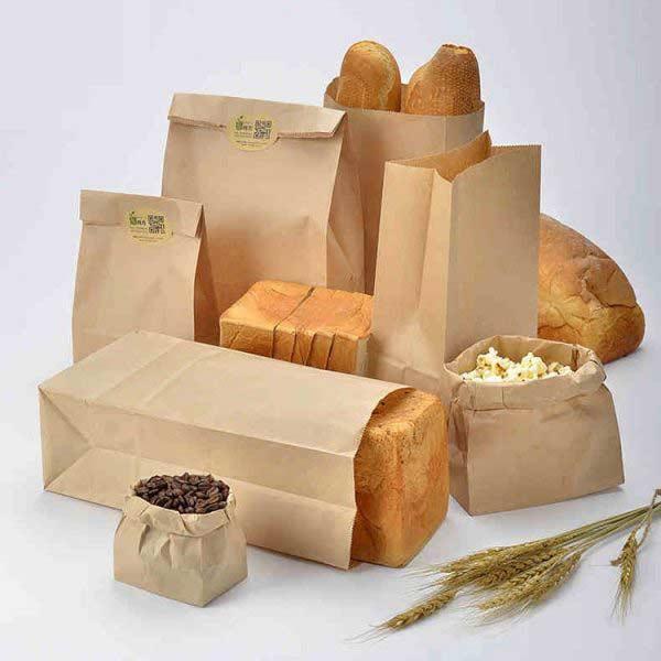 Современная упаковка выпечки и хлеба
