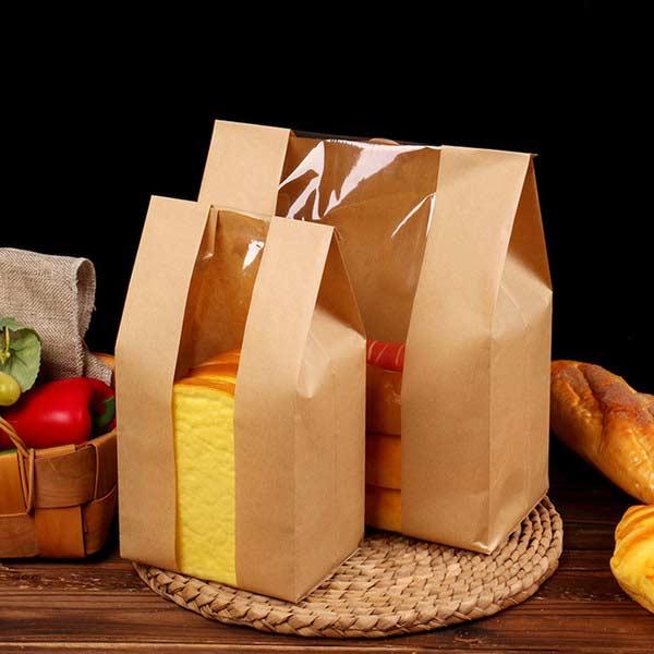 Упаковка с прозрачным окошком для хлеба
