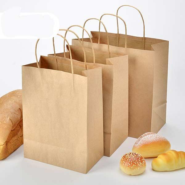 Пакеты для выпечки с плоским дном и ручками