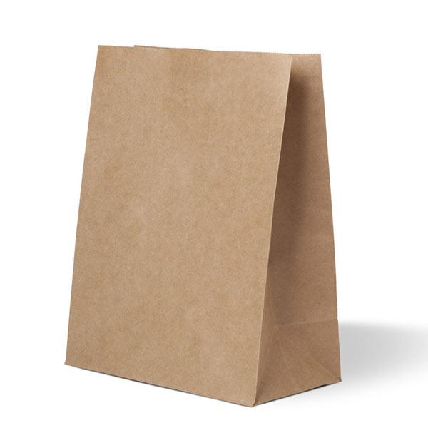 Пакет бумажный крафт